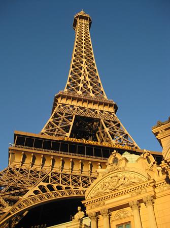 Paris Eiffeltoren Las Vegas