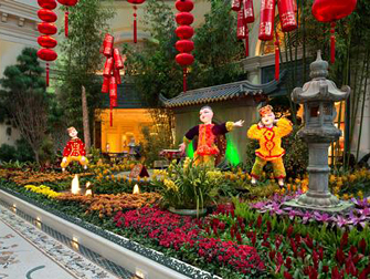 Bellagio Conservatory Botanical Gardens Las Vegas