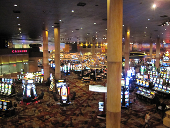 New York New York casino in Las Vegas