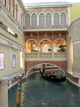 Venetian gondel Las Vegas