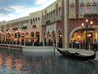 Venetian in Las Vegas gondel