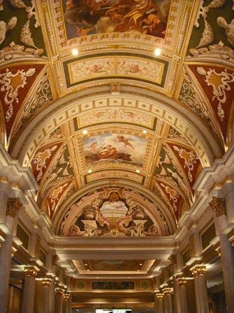 Venetian plafond Las Vegas
