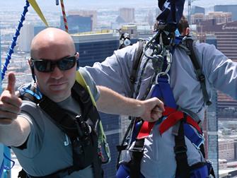 Bungee Jump Stratosphere Las Vegas