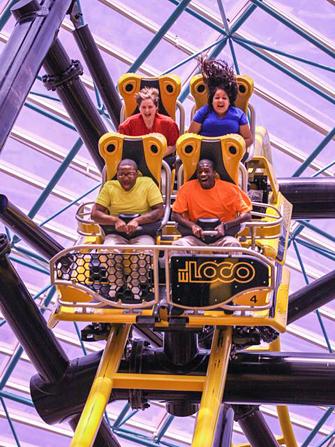 El Loco at The Adventuredome Circus Circus