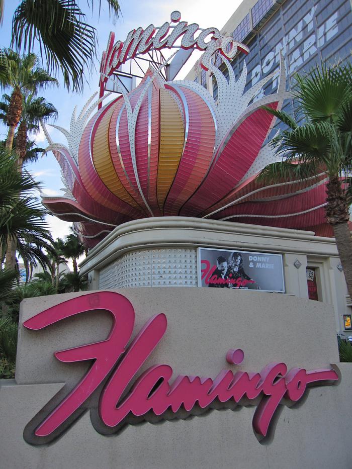 Flamingo hotel in Las Vegas