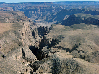 Grand Canyon vanaf helikopter