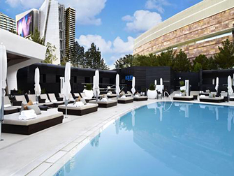 LIQUID Pool Lounge Aria Las Vegas