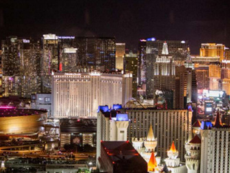 Mandalay Bay hotel in Las Vegas - Skyfall Lounge
