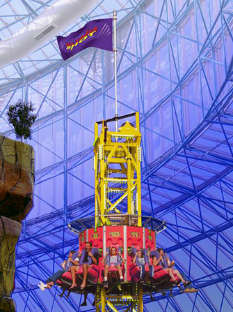 Sling Shot Ride Circus Circus