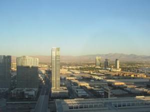 uitzicht vanaf Stratosphere in Las Vegas