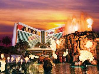 vulkaan TheMirage Las Vegas