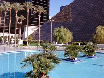 zwembad Luxor Las Vegas