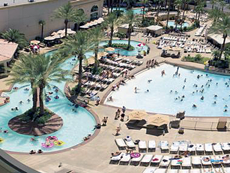 zwembad Monte Carlo Las Vegas