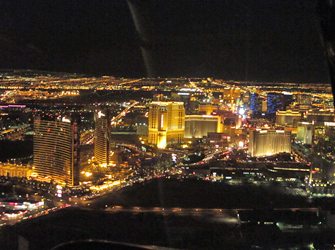 nacht helikoptertour Las Vegas
