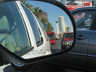 Rijden in Las Vegas