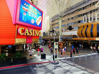 Big bus hop on hop off bus in Las Vegas - Downtown Las Vegas