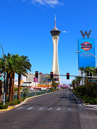 The Stratosphere Tower in Las Vegas - W Hotel