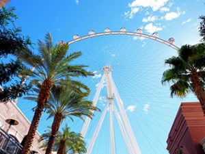 The LINQ High Roller in Las Vegas