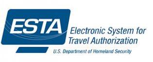 ESTA Electronic System for Travel Authorization