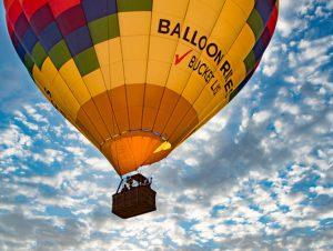 Heteluchtballonvaart in Las Vegas