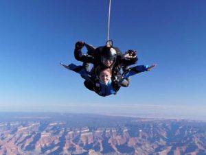 Skydiving in Las Vegas