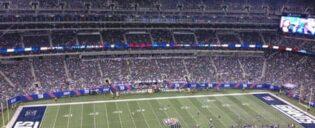 New york giants stadion en publiek